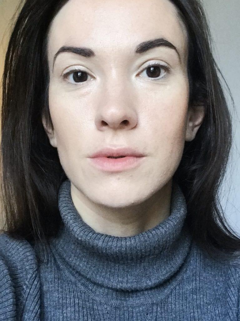 Cils sans mascara