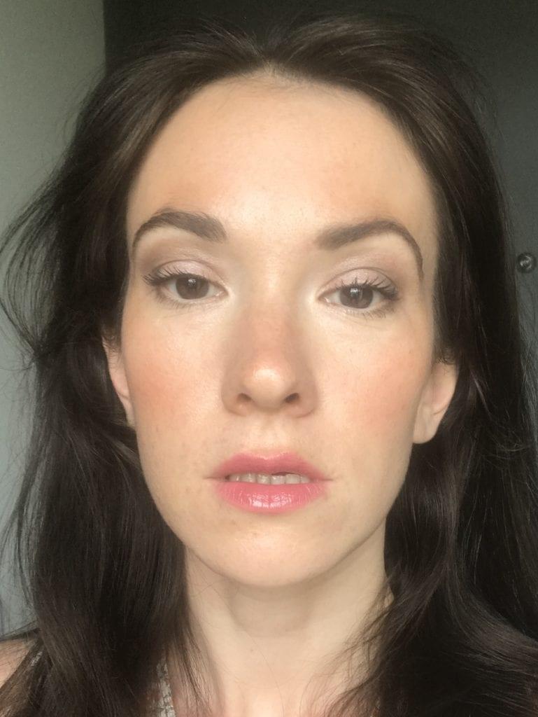 Maquillage naturel Lavera Naturkosmetik visage maquillé