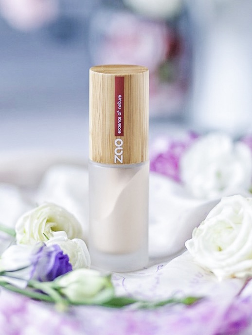 Natural organic Silk foundation from Zao Make-up