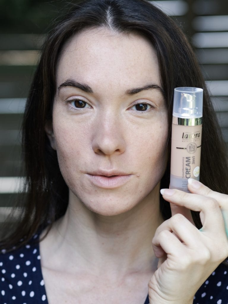 Maquillage naturel Lavera Naturkosmetik crème 3 en 1 hydratante