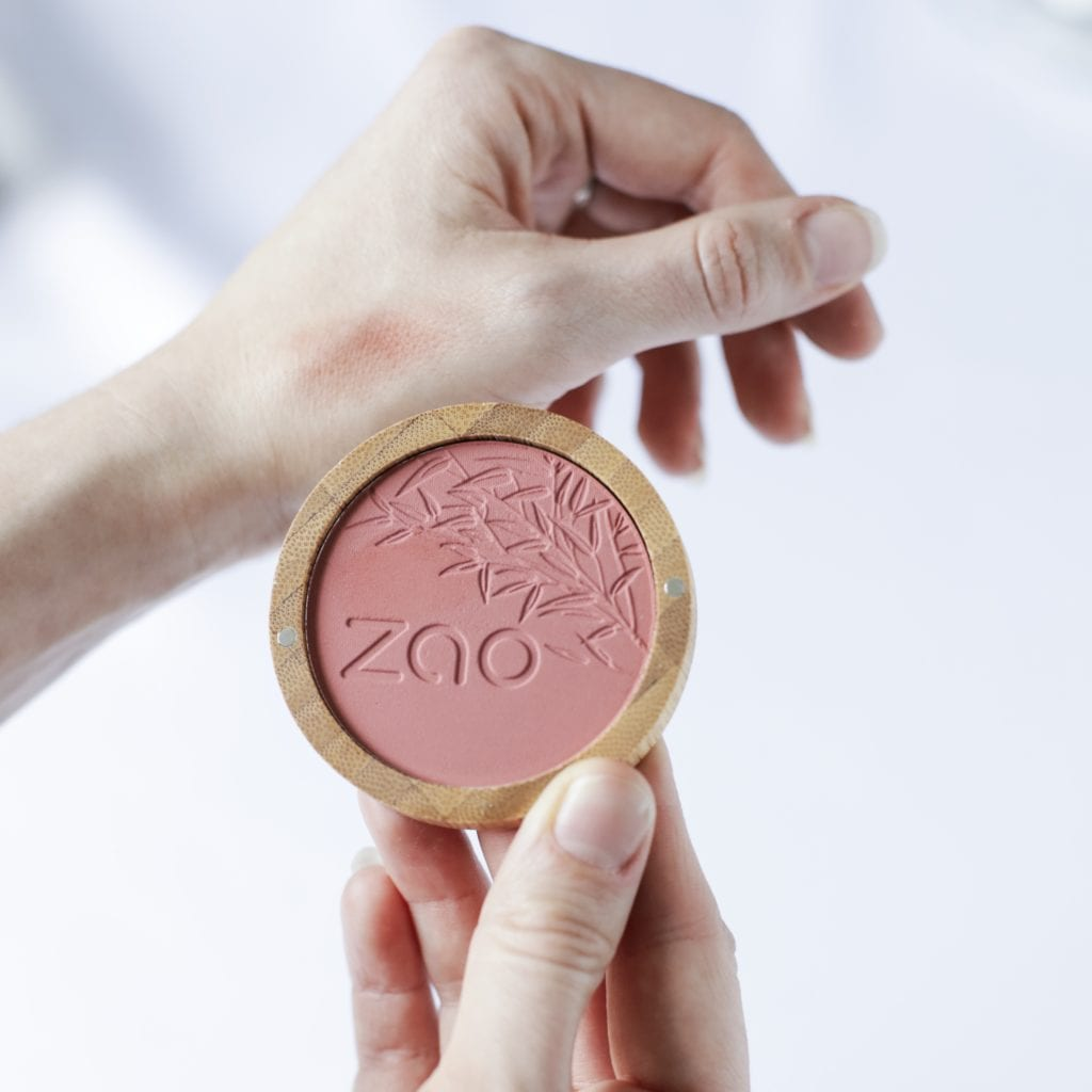 Compact Blush from Zao Make-up