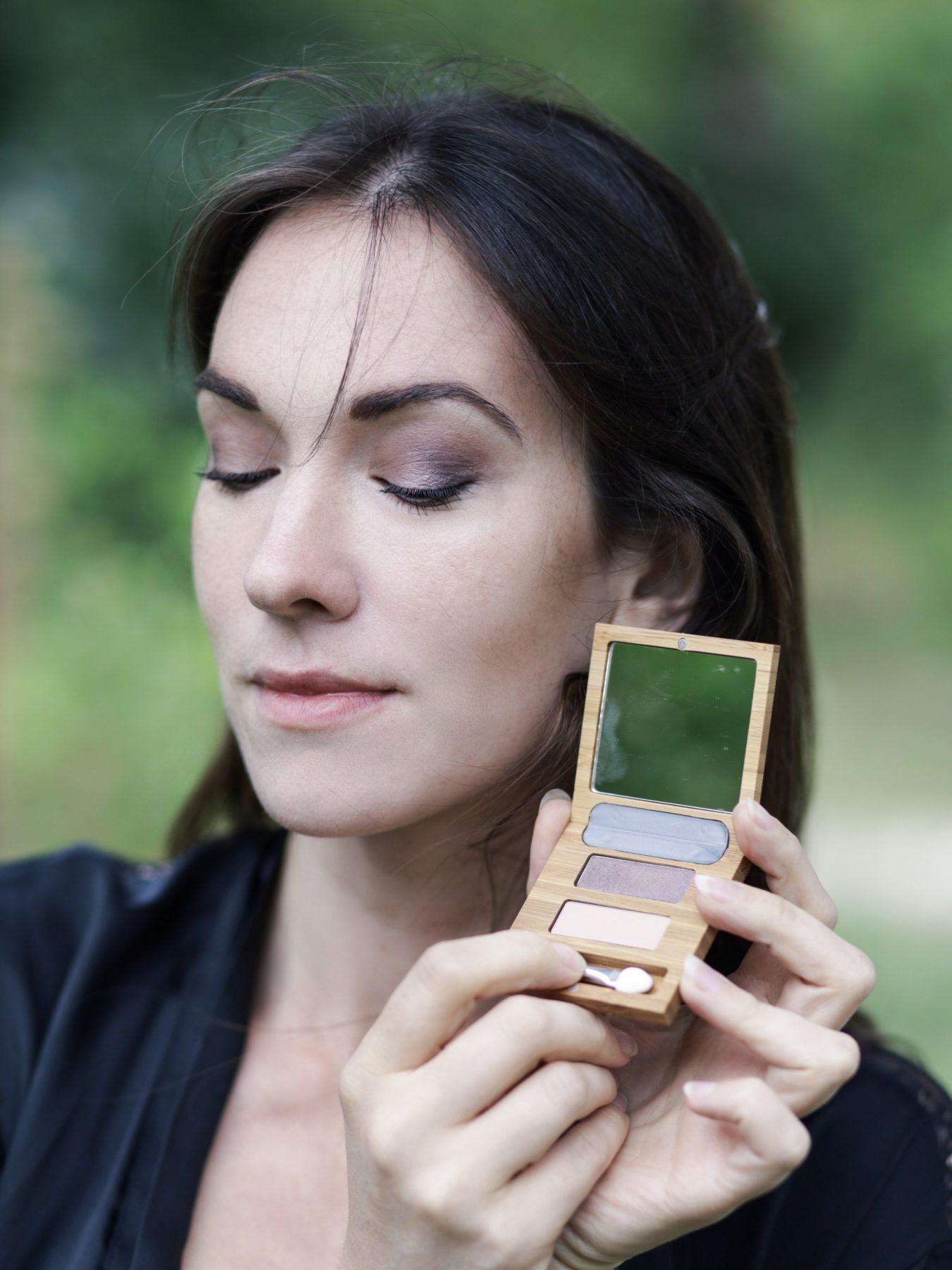 choisir les fards à paupières zao makeup