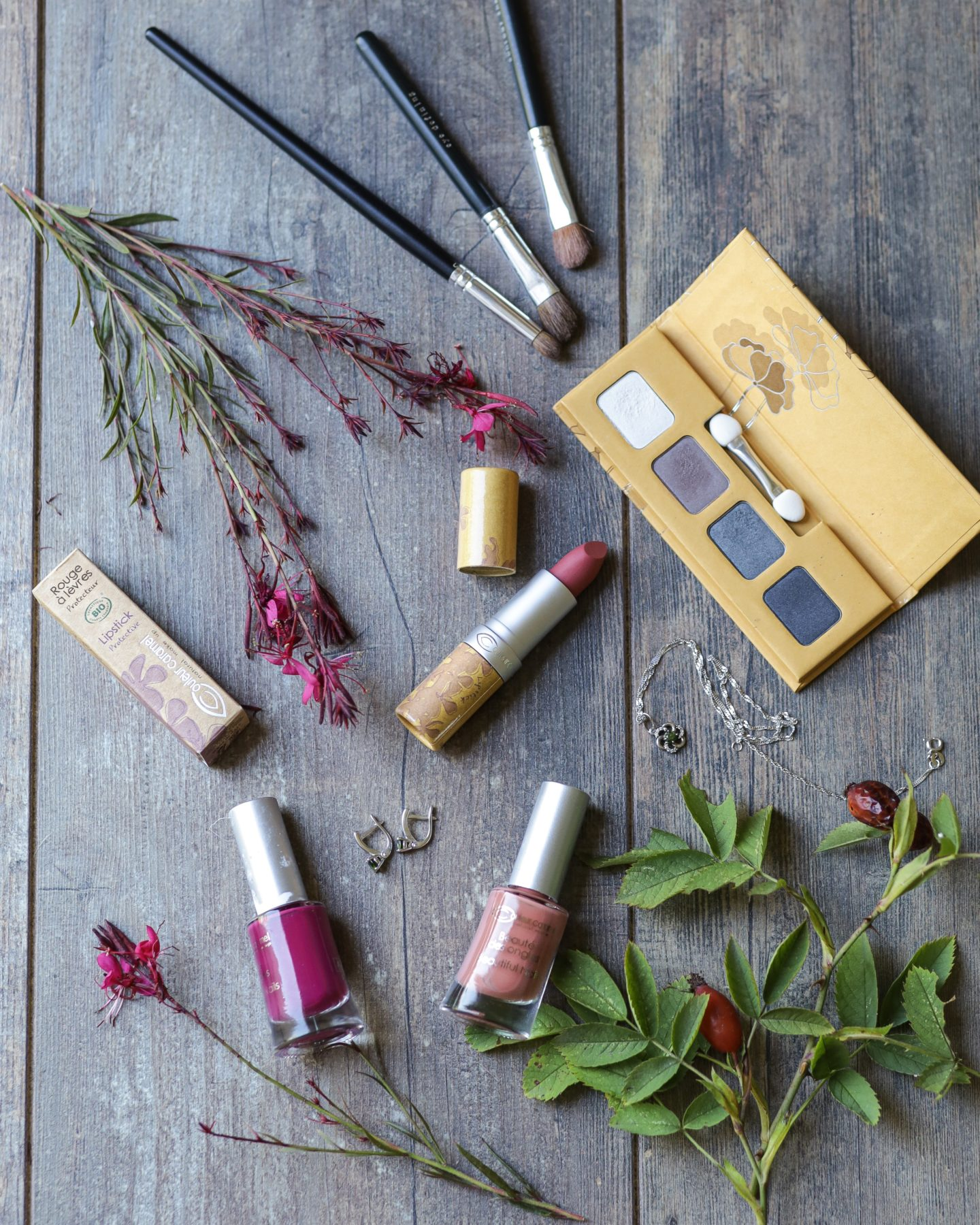 Collection de maquillage Urban Nature marque Couleur Caramel