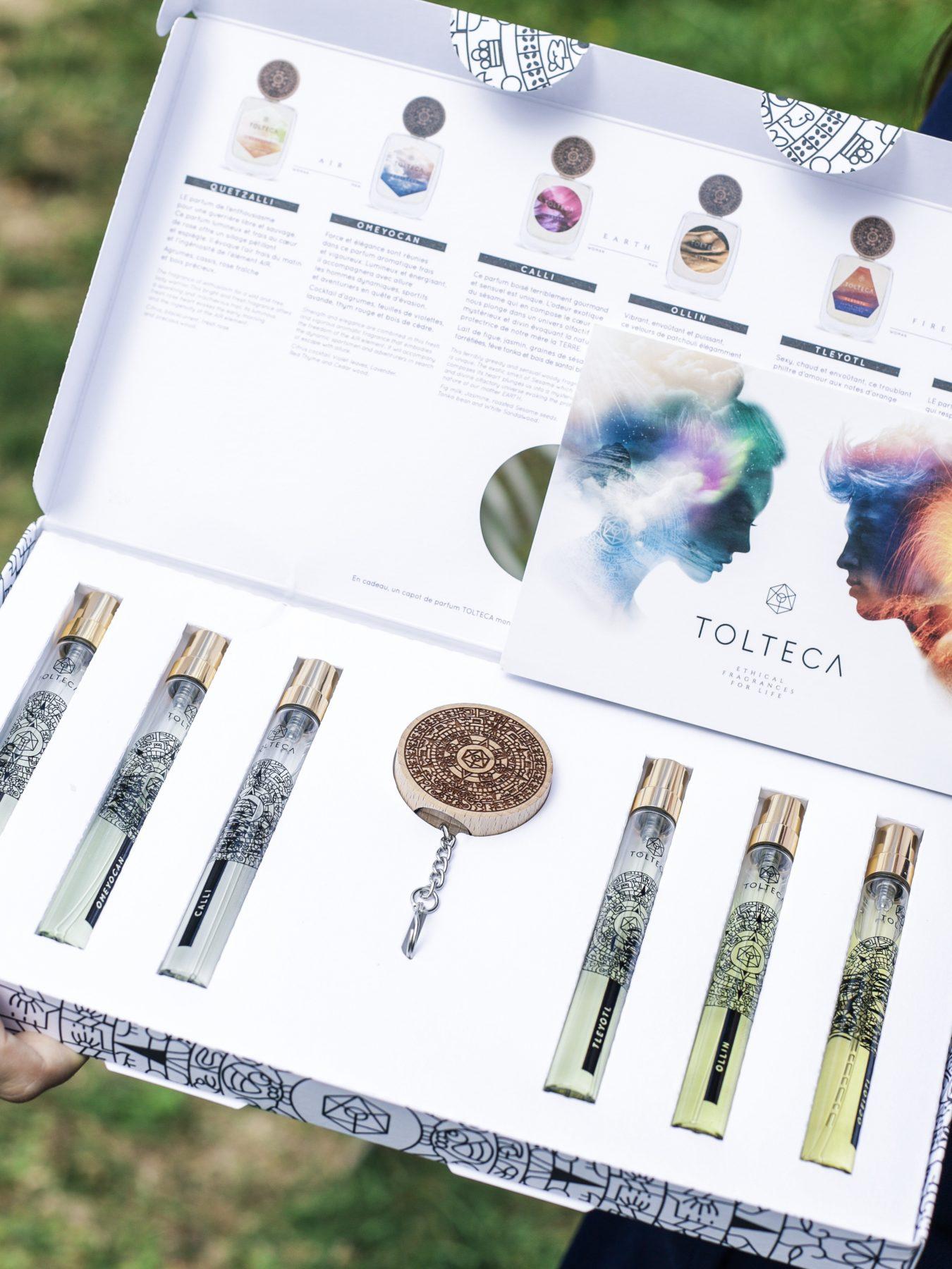 Tolteca parfums naturels bio et vegans