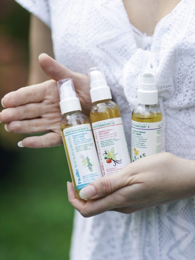 les huiles de massage laboratoires phytomedica