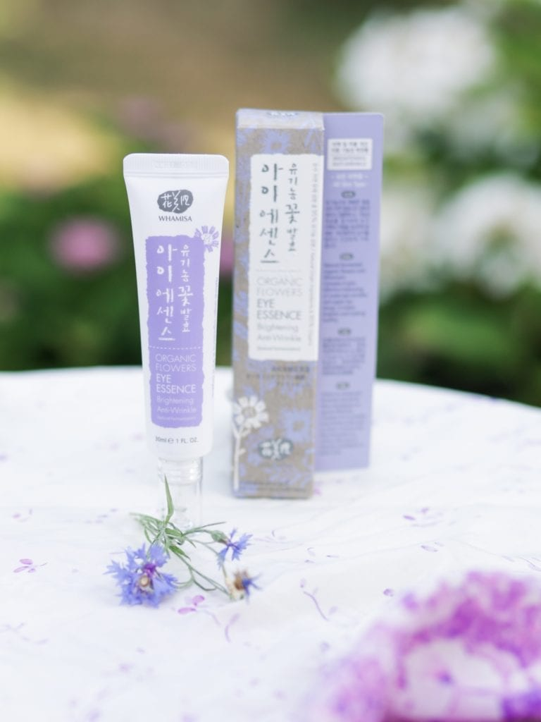 Whamisa Organic Flowers Eyes Essence Korean skincare routine