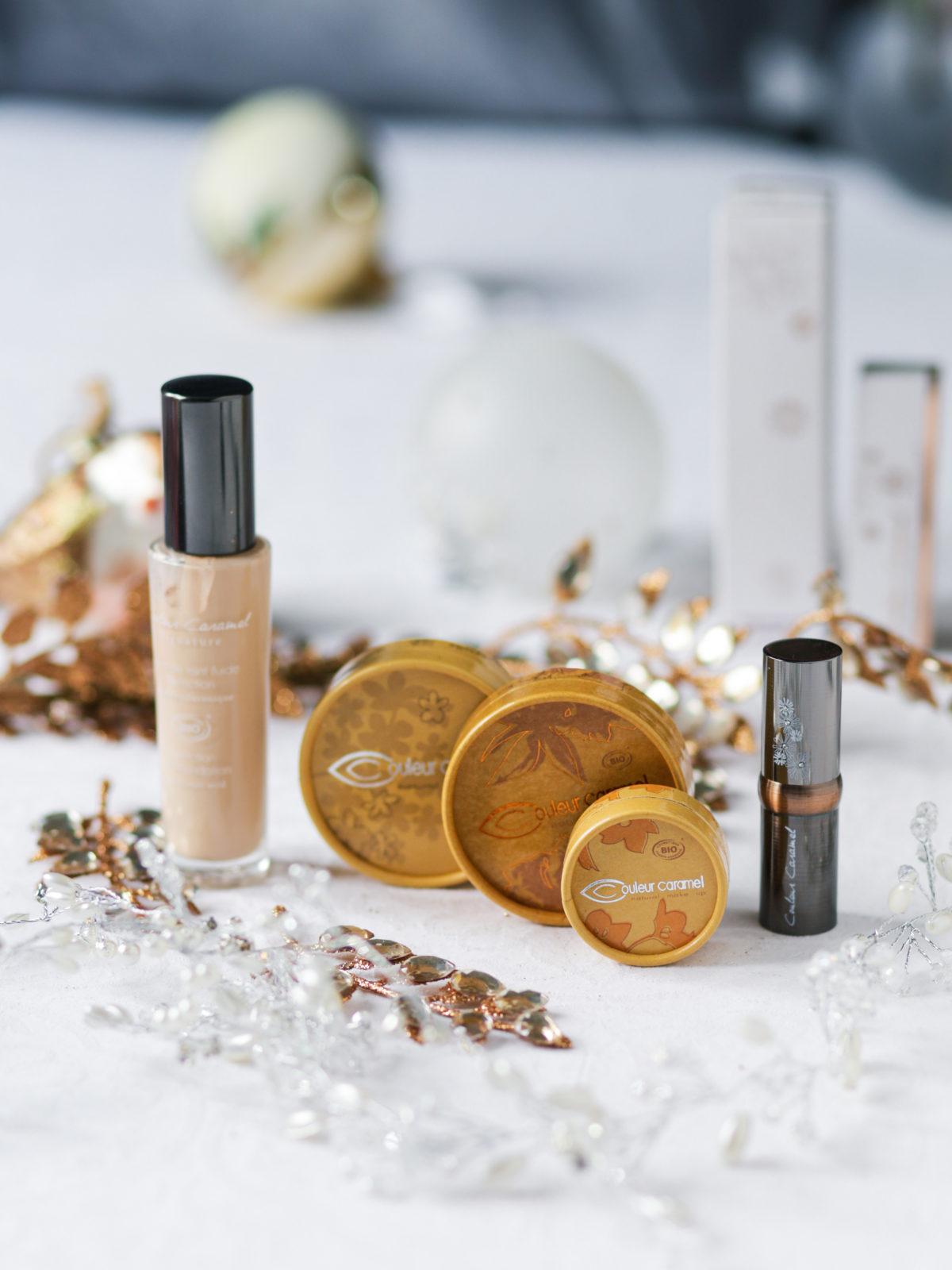 teint parfait avec les produits de maquillage Couleur Caramel