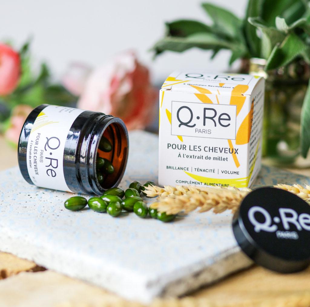 Compléments alimentaires pour les cheveux qre