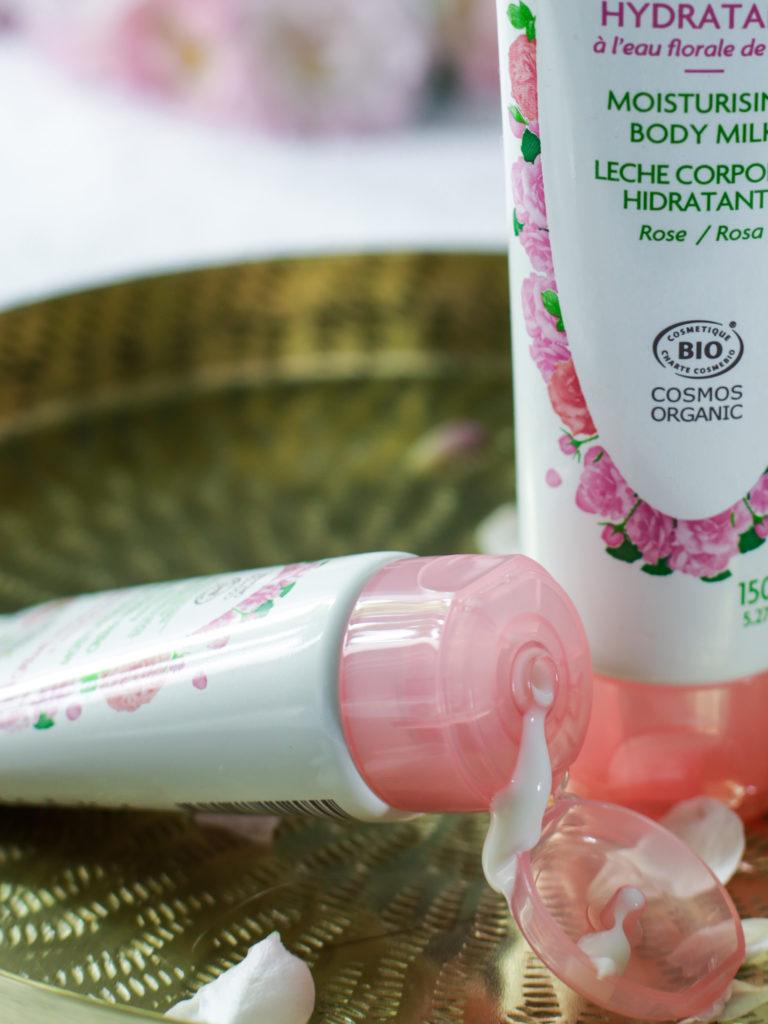 crème hydratante à la rose Fleurance Nature