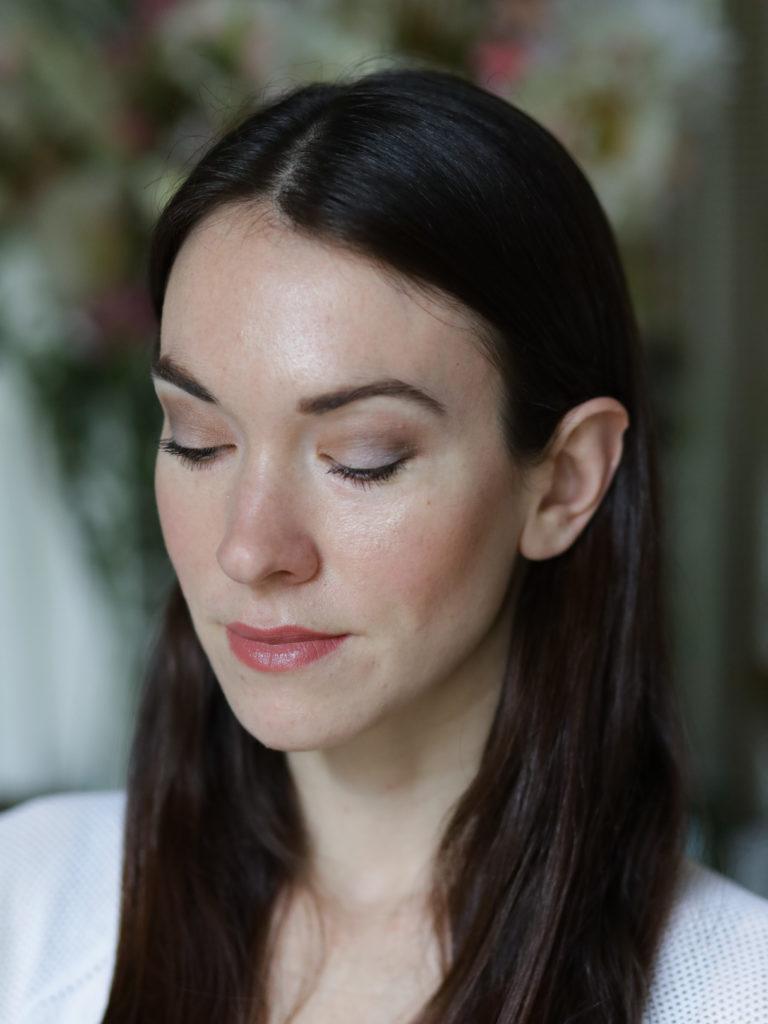 mon maquillage avec les fards à paupières Dr Hauschka