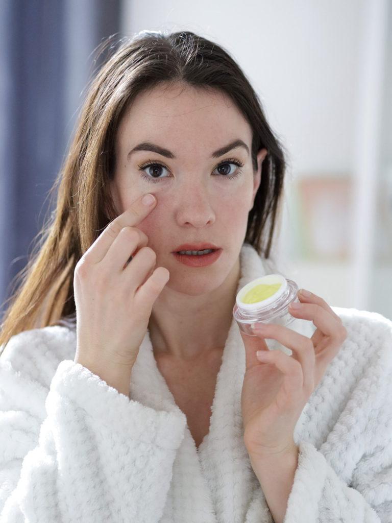 Masque gel rescue contour des yeux Hormeta