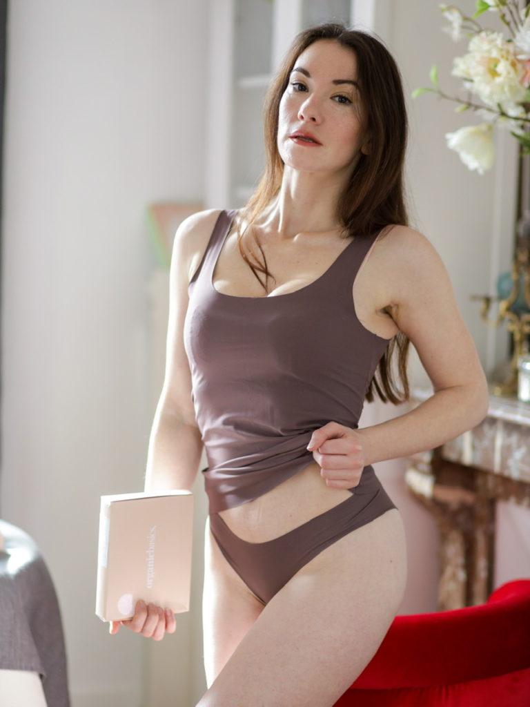 lingerie confortable Organic Basics