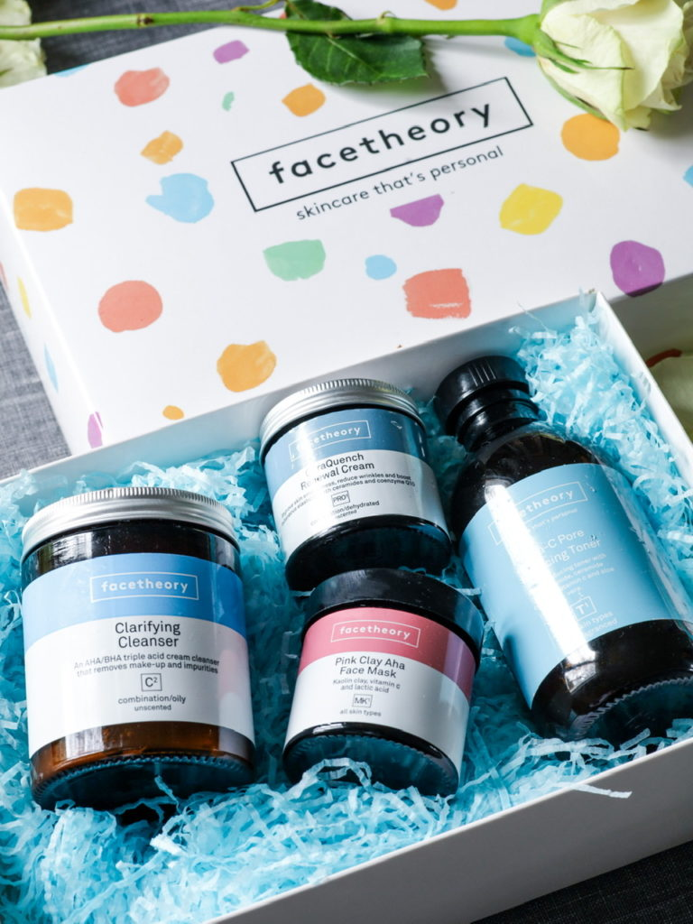 English clean skincare brand Facetheory