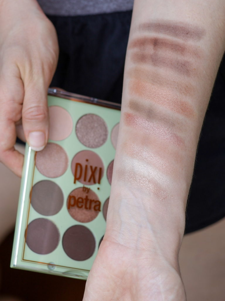Palette maquillage Pixi Beauty - Eye Reflections, teinte Natural Beauty