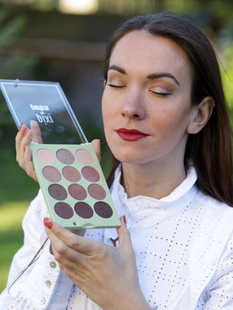 mon maquillage avec les palettes de Pixi Beauty