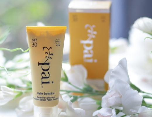 Hello Sunshine : ma crème solaire bio SPF30 sans nanoparticules de chez Pai Skincare