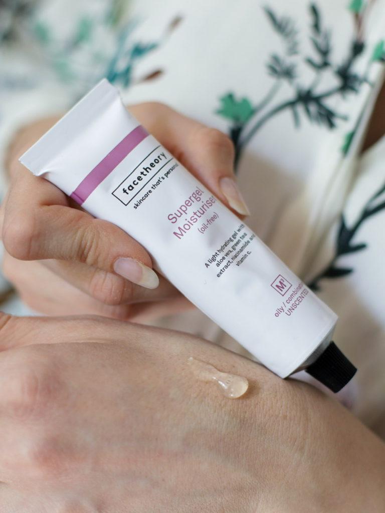 Supergel M3, gel hydratant sans huile pour les peaux grasses et à tendance acnéique, routine anti-âge