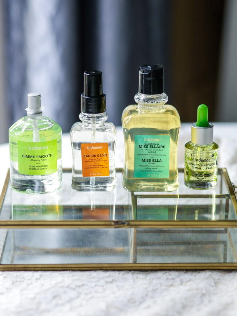 Indemne cosmétique aux huiles essentielles bio