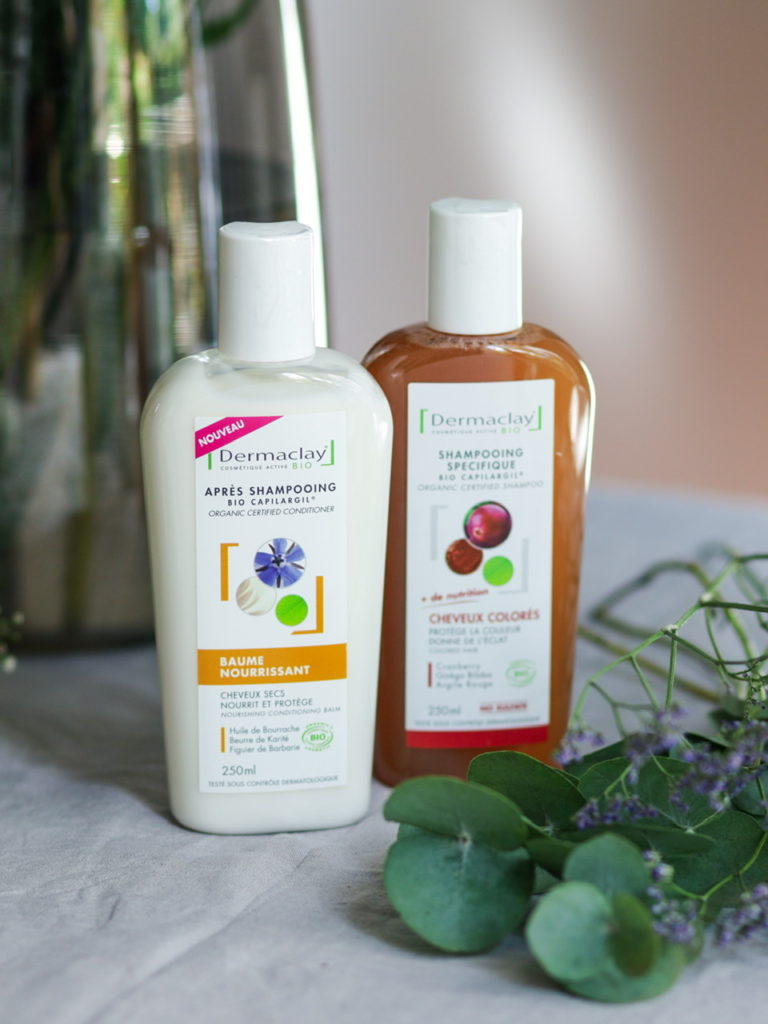 ma routine capillaire avec Dermaclay