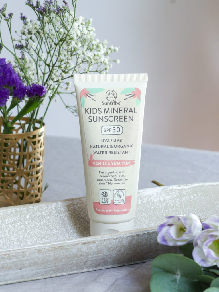 Crème Solaire Minérale Bio SPF 30 Enfant & Bébé - Suntribe