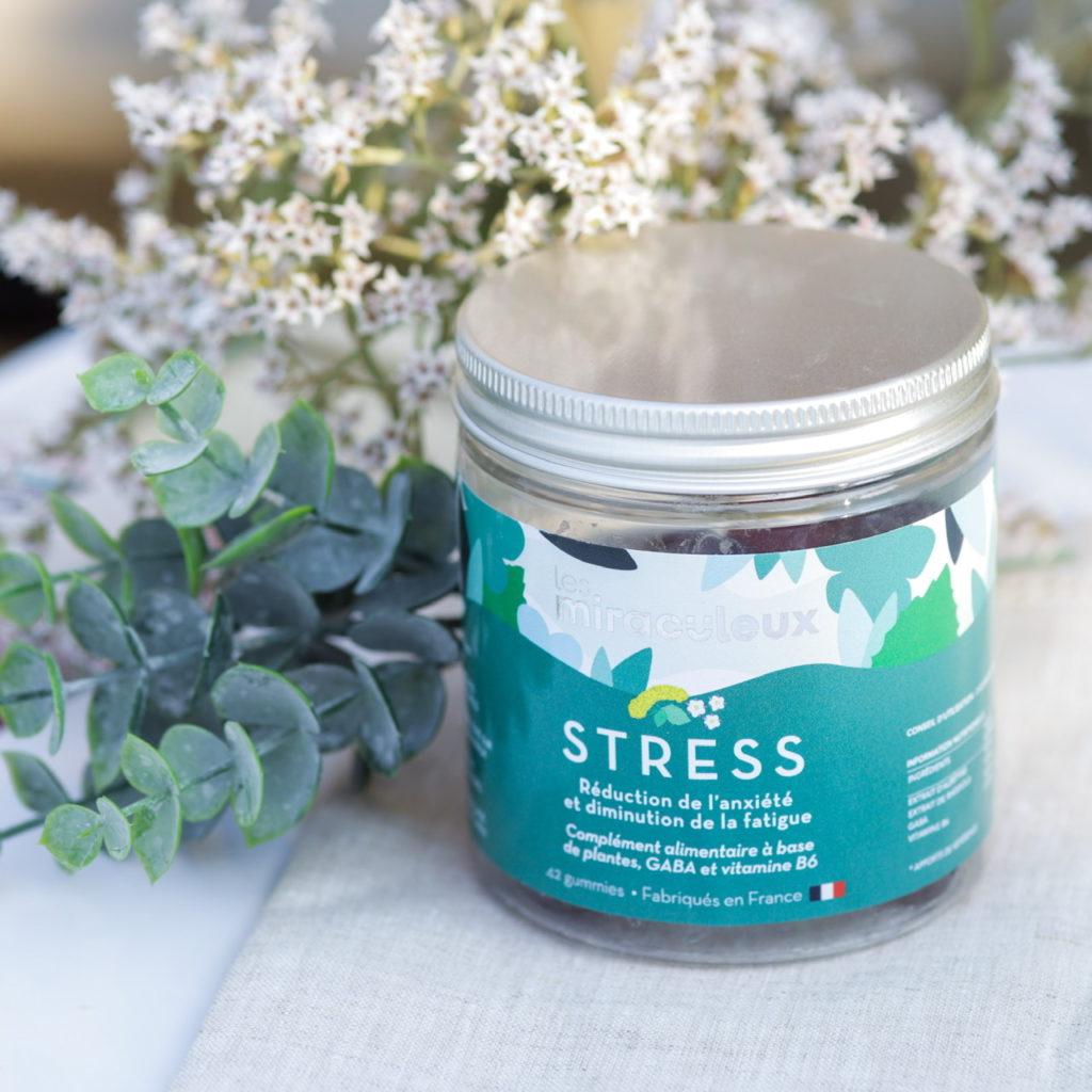 Les gummies Anti-stress et anxiété