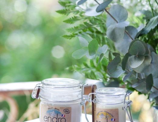 déodorant naturel et dentifrice naturelle Endro