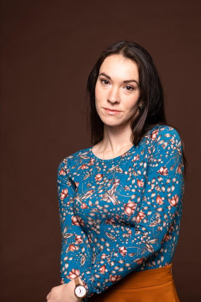 Eunika Thessalia blouse bleue