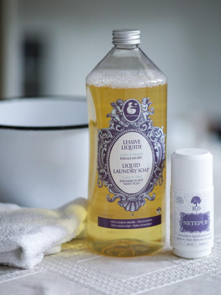 Lessive liquide écologique Citron - Romarin produits écologiques pour l'entretien