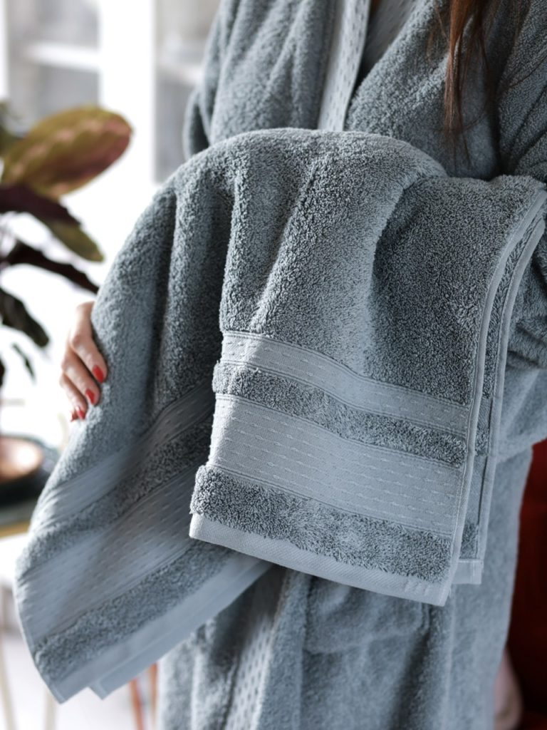 serviette de bain en coton bio
