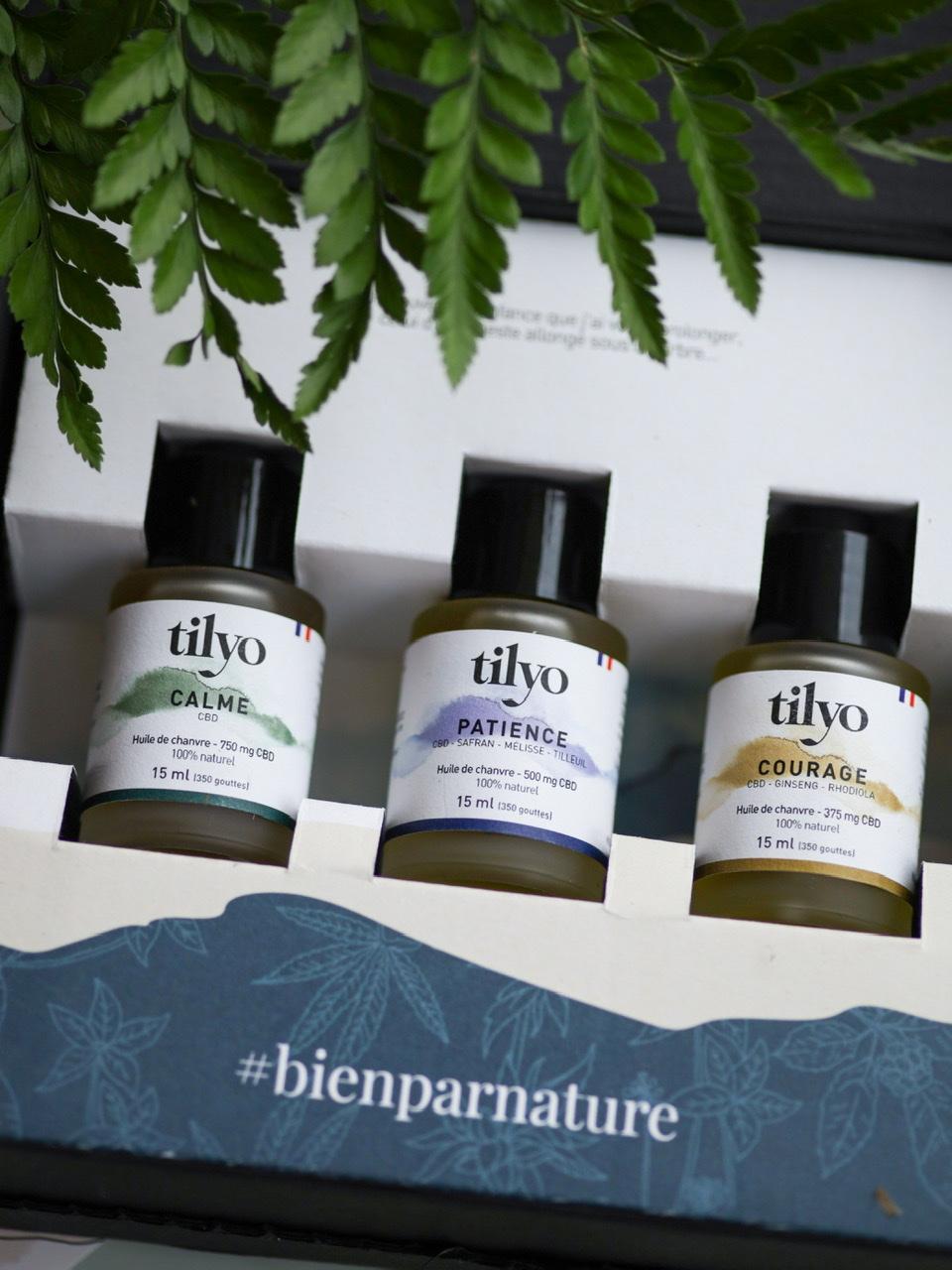 les huiles CBD de la marque Tilyo