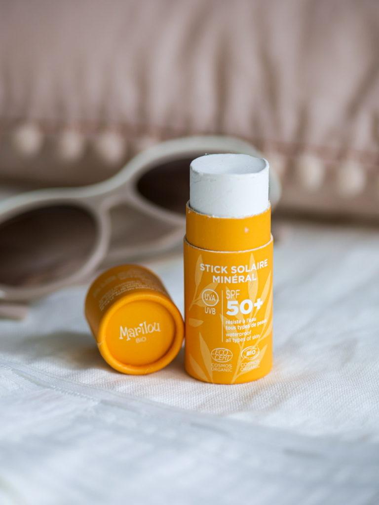 Marilou Bio Stick solaire minéral SPF50+ pour le visage